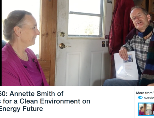 Plan V-TV/60: Annette Smith of Vermonters for a Clean Environment on Vermont's Energy Future